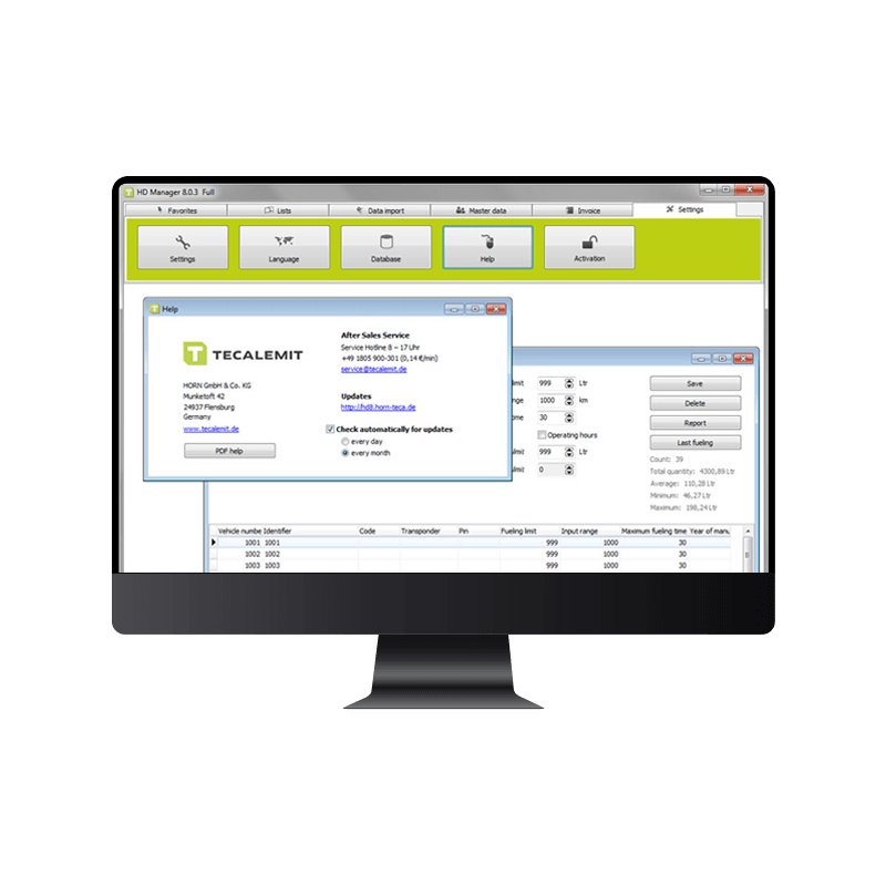 HD Manager 8 PC Data Software